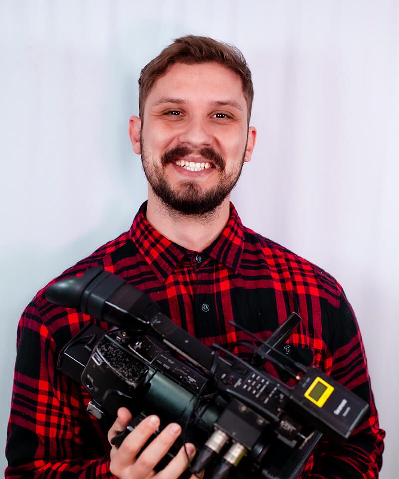 Jhonathan Caldeira – Cinegrafista